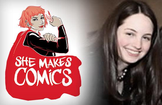 Marisa Stotter, She Makes Comics