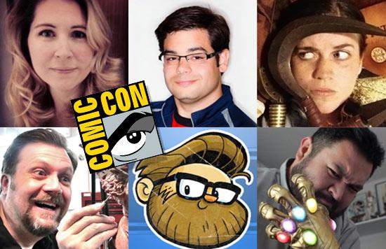 San Diego Comic-Con Panelists
