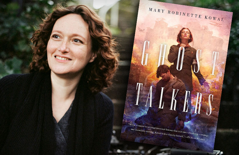 Mary Robinette Kowal - author of Ghost Talkers - Fictitious Podcast
