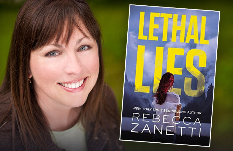 Rebecca Zanetti - author, Lethal Lies - Fictitious Podcast