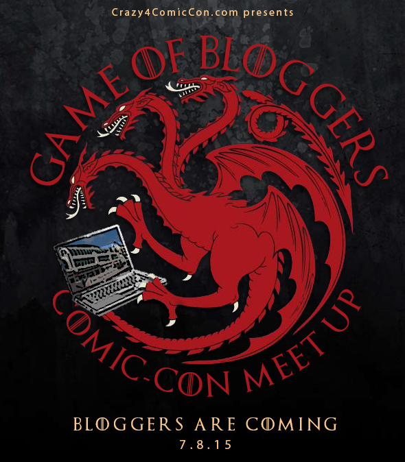 Game of Bloggers SDCC 2015