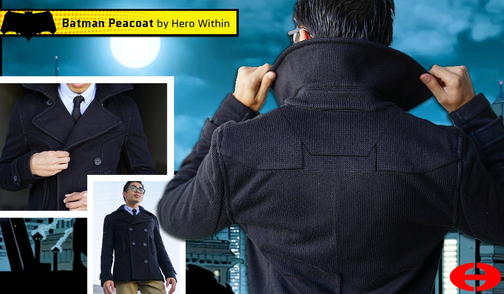 Hero Within - Batman Peacoat
