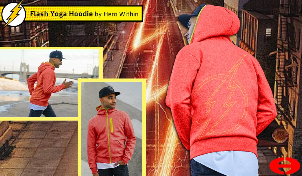 Hero Within - Flash Yoga Hoodie