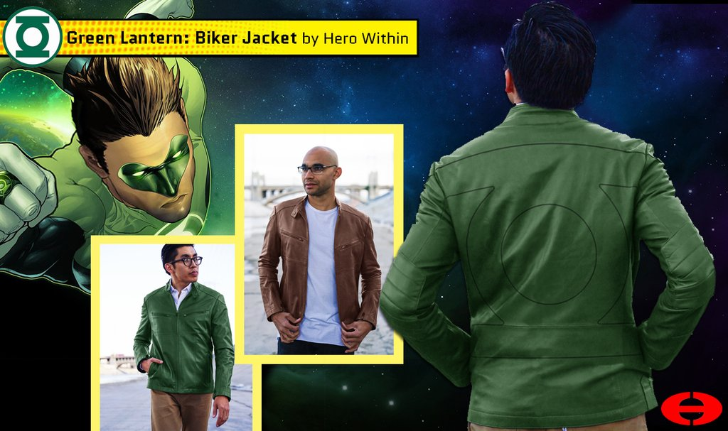 Hero Within - Green Lantern Jacket