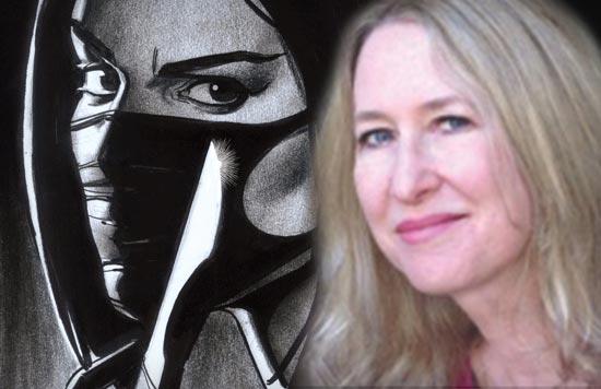 Karen Berger, editor of Surgeon X and founder of Vertigo Comics