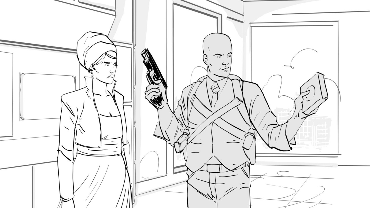 Kevin Mellon - Storyboard Artist for
