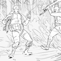 Archer storyboard art by Kevin Mellon 4