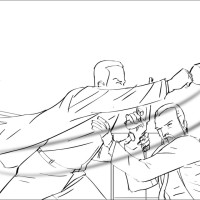 Archer storyboard art by Kevin Mellon 5