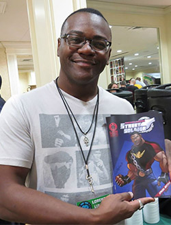 Lorenzo Lizana from Lion Forge Comics