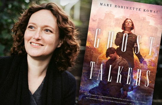 Mary Robinette Kowal, author of Ghost Talkers