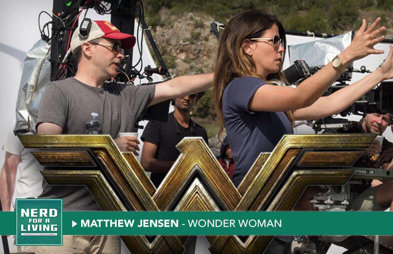 "Matthew Jensen – ""Wonder Woman"" Director of Photography"
