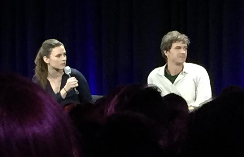 Nerd HQ 2015: Hayley Atwell and James Darcy of Agent Carter