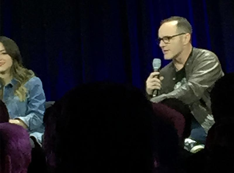 Nerd HQ 2015: Chloe Bennett and Clark Gregg of Agents of SHIELD