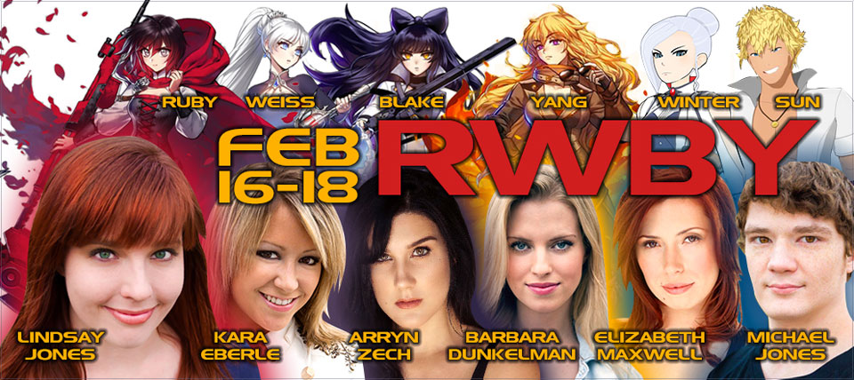 RWBY Cast - Planet Comicon 2018
