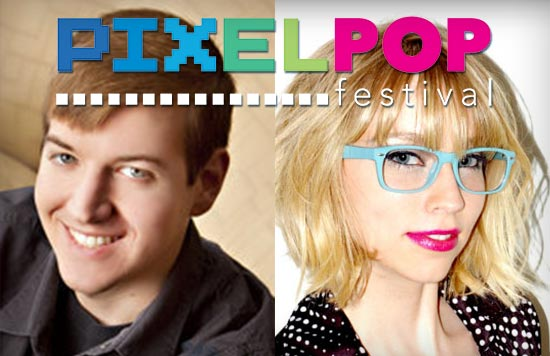 PixelPop Festival - with Jeremy Johnson and Carol Mertz