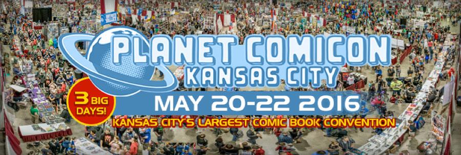 Planet Comicon 2016 banner