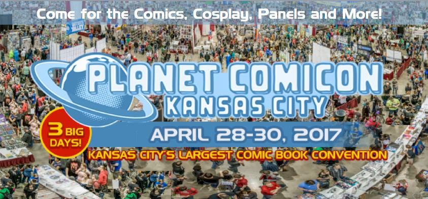 Planet Comicon 2017 Banner