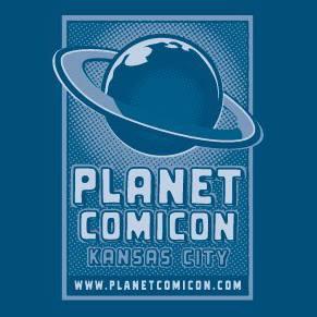 Logo: Planet Comicon