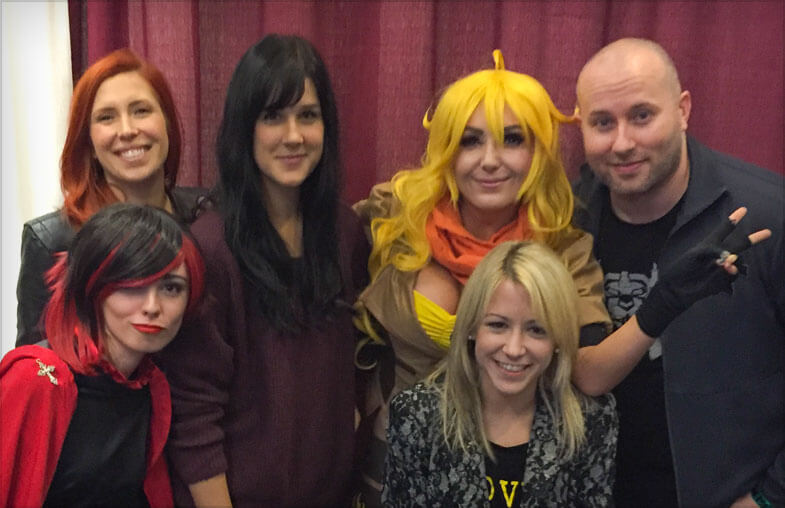 RWBY Panel at Planet Comicon 2017