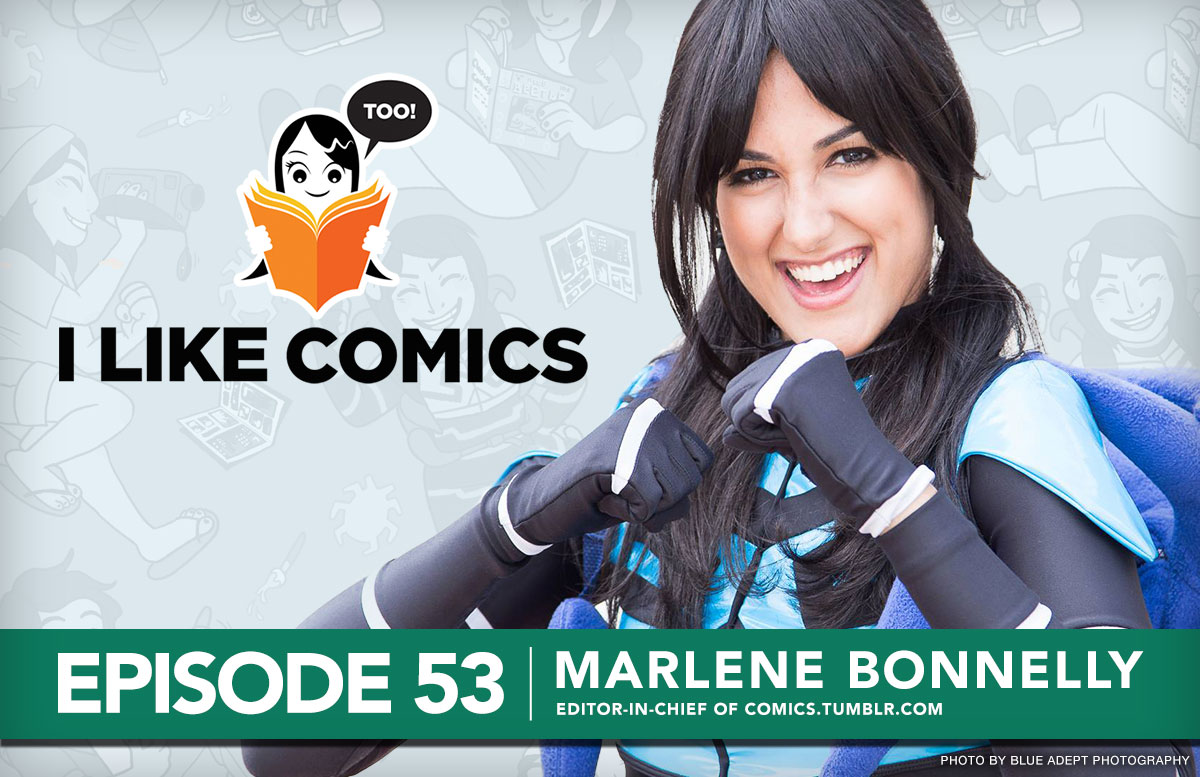 Marlene Bonnelly, Editor-in-Chief of Comics.Tumblr.com