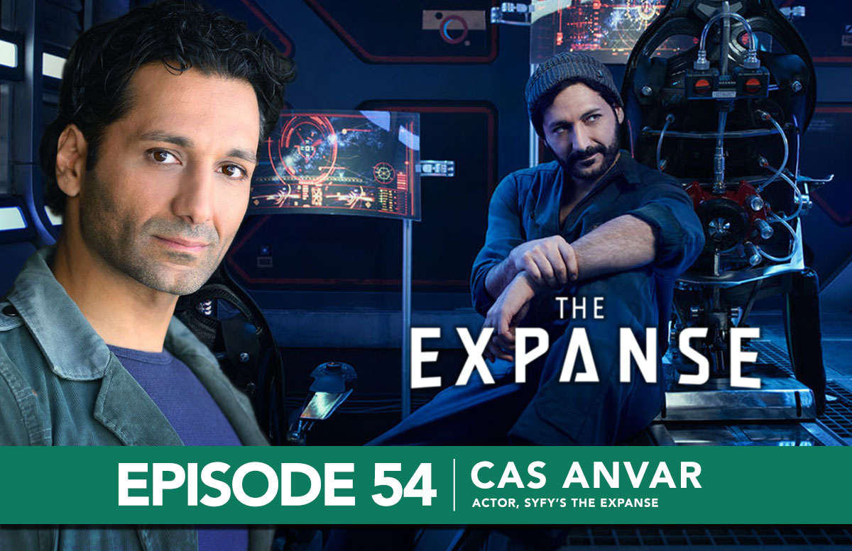 Cas Anvar, actor from SyFy's The Expanse