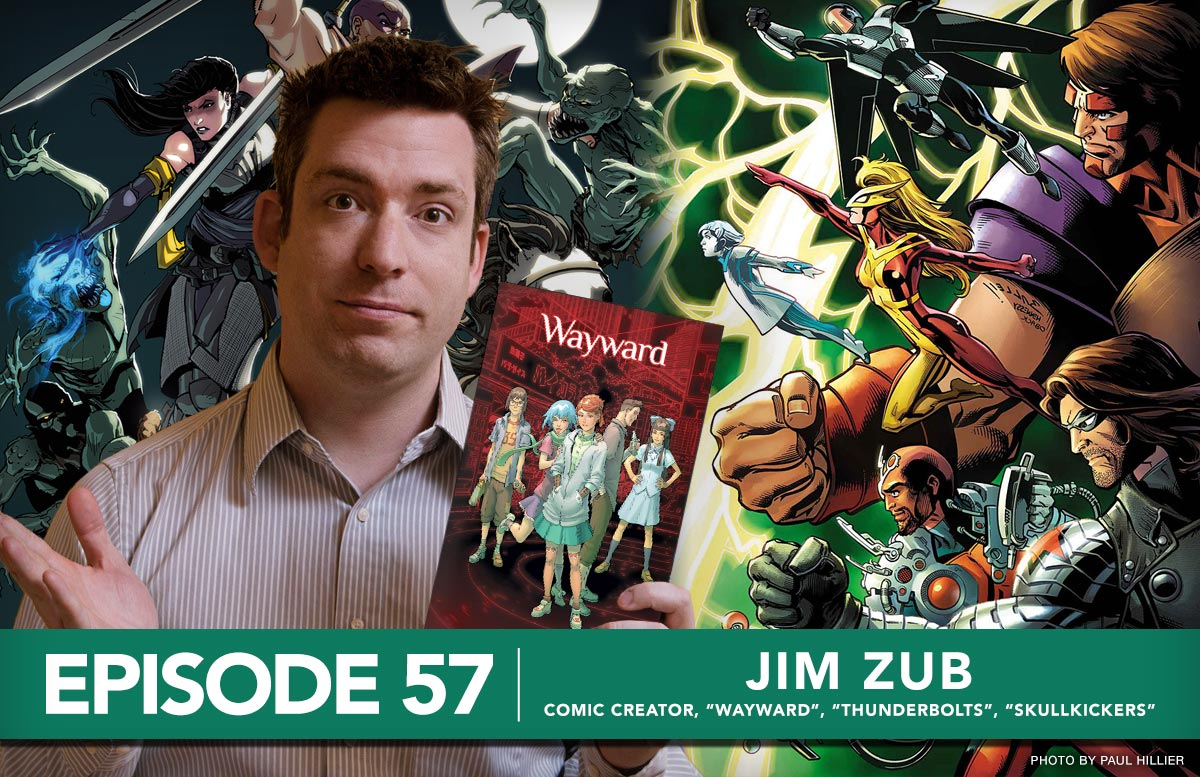Nerd For A Living Podcast Episode 57 with Jim Zub, Comic Creator