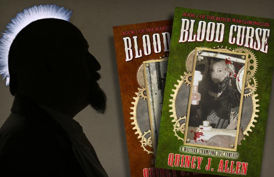 Quincy J. Allen, author of Blood Curse