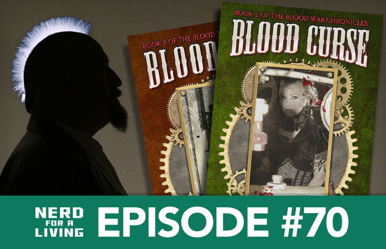 Episode 70, with Quincy J. Allen, author of Blood Curse
