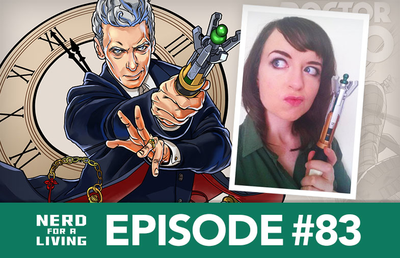 Episode 83 - Rachael Stott, Doctor Who Comics Artist