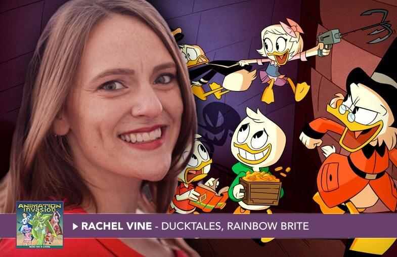 Rachel Vine - Writer, DuckTales