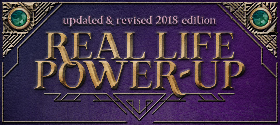 Real Life Power-Up event header
