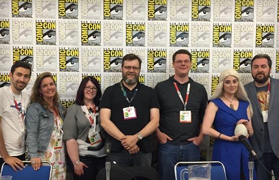 San Diego Comic Con 2015 Panelists