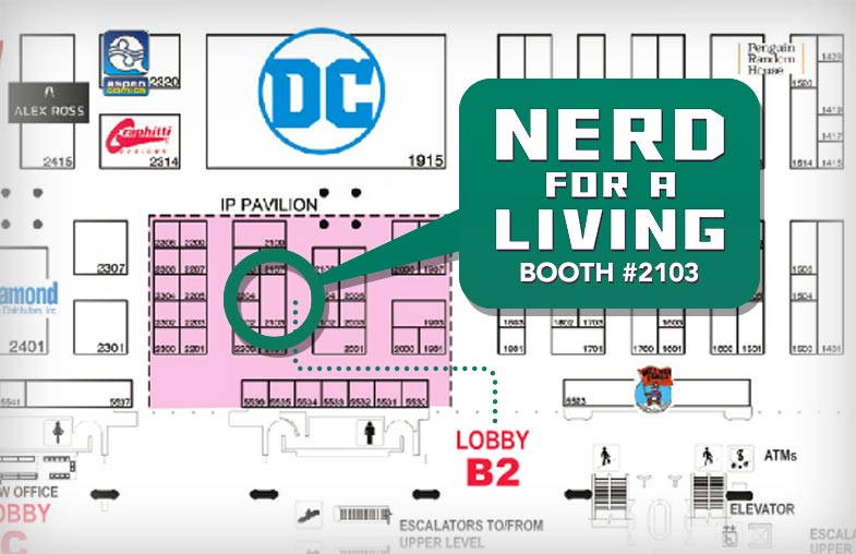 San Diego Comic-Con Booth 2103