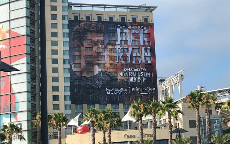 Amazon Prime's Jack Ryan covers another hotel in San Diego