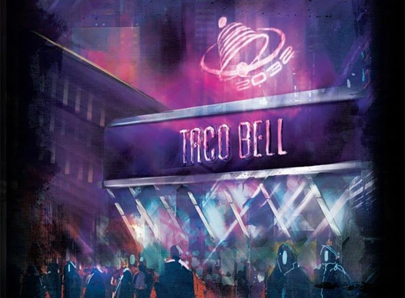 Every restaurant in the future is Taco Bell