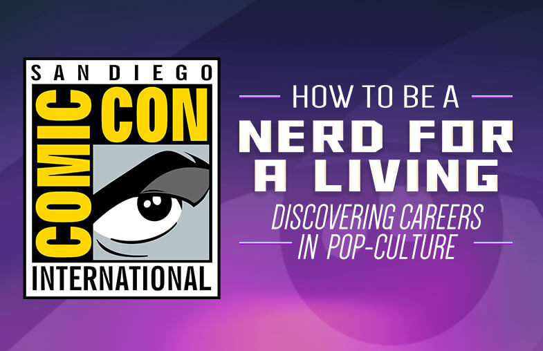 San Diego Comic Con 2019 Nerd for a Living Panel