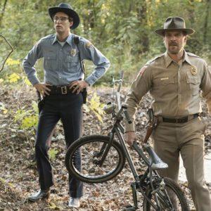 Stranger Things - David Harbour as Sheriff Jim Hopper