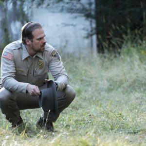 Stranger Things - David Harbour as Sheriff Jim Hopper