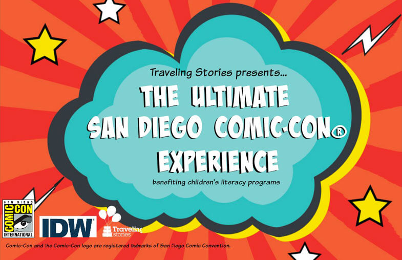 The Ultimate San Diego Comic-Con Experience sweepstakes from Traveling Stories