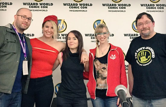 Featured: Wizard World St. Louis How to be a Nerd for a Living panel