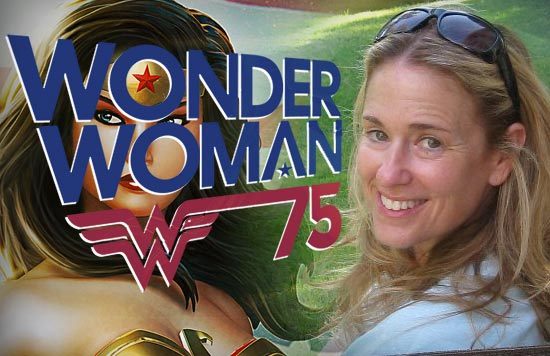 Susan Eisenberg, Wonder Woman 75th Anniversary